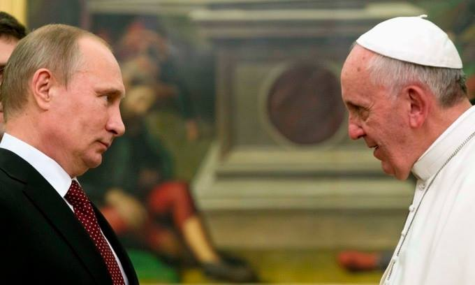Papa-Francesco-e-Putin