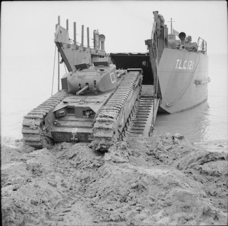 Tank-off-landing-craft